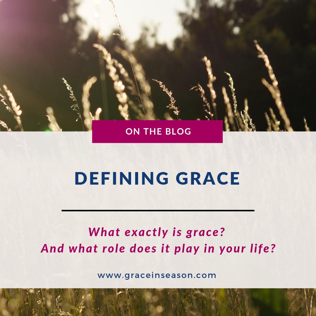 Defining Grace